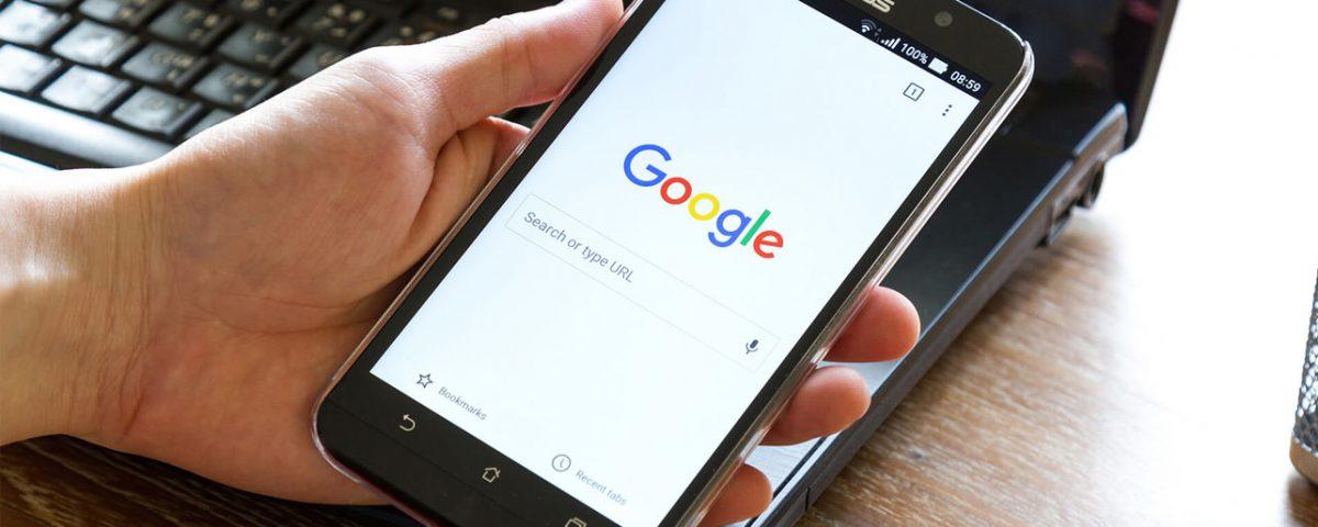 google pagina inicio movil