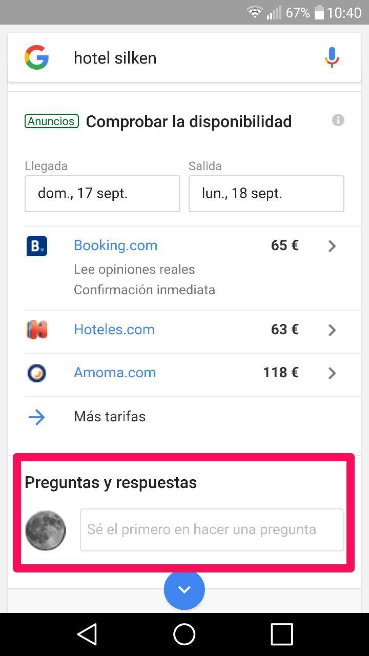Preguntas Y Respuestas En Google Mybusiness