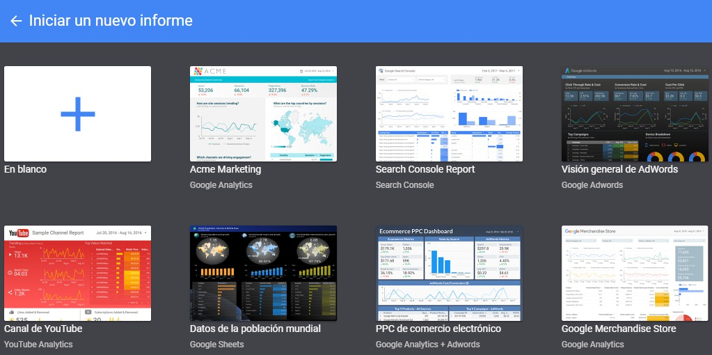 Crea informes en Google Data Studio: Tutorial básico