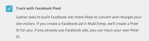 facebook pixel mailchimp