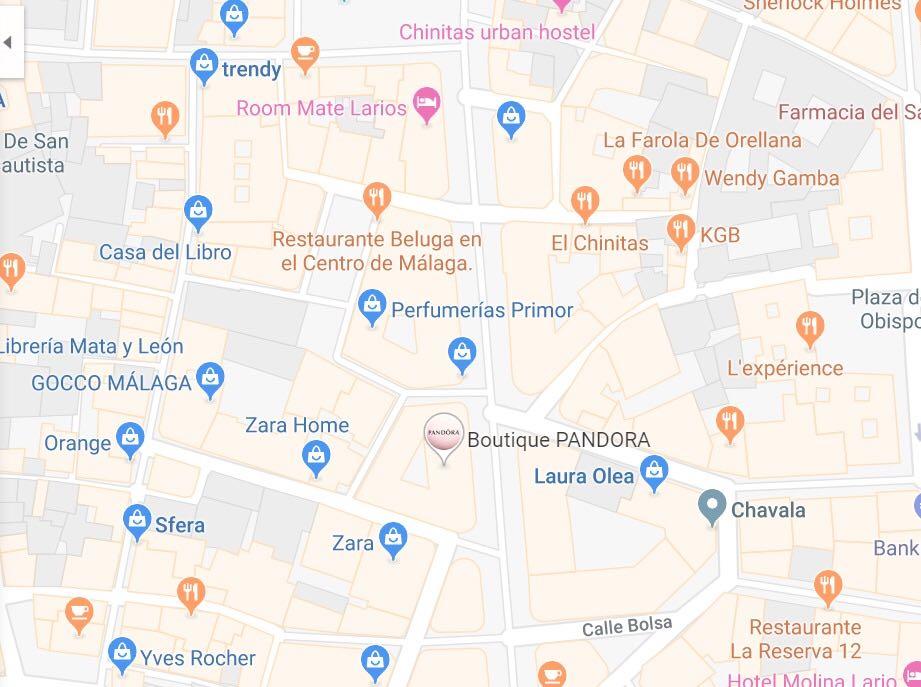 pins promocionados google maps