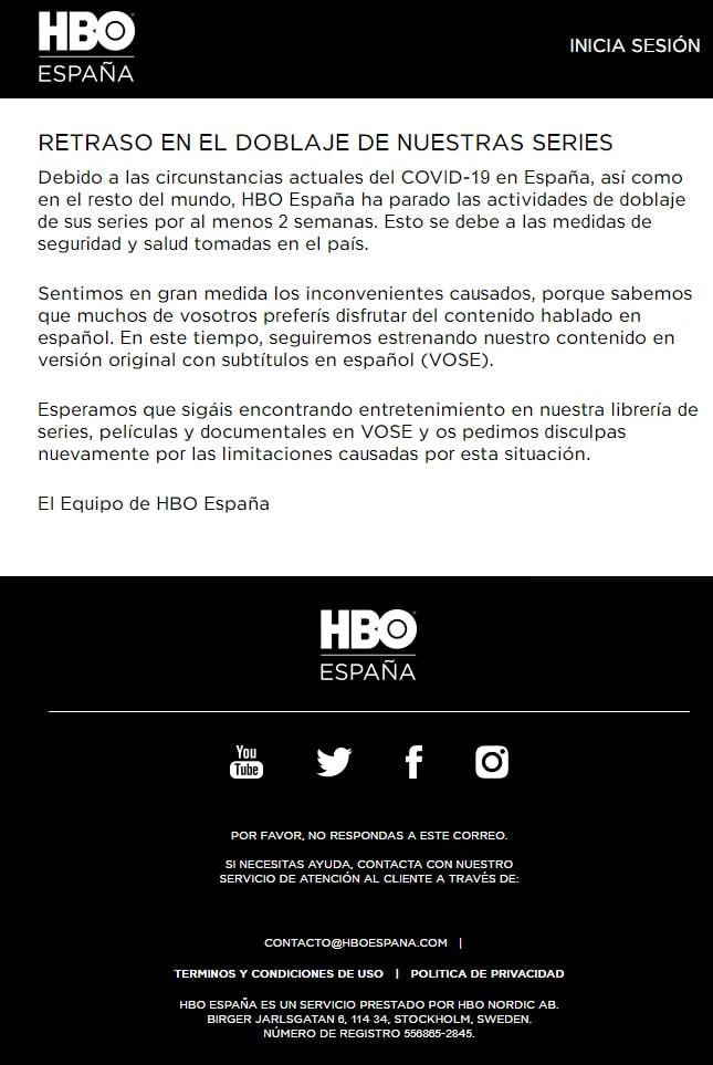 HBO news covid