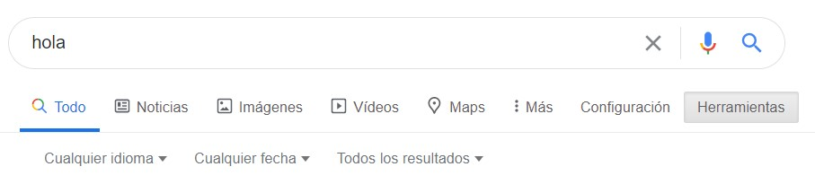 parametros para refinar búsqueda en Google