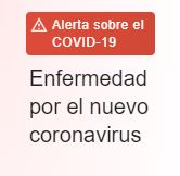 Aviso Covid-19