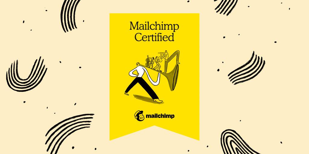 Certificado Mailchimp Academy para Disruptivos
